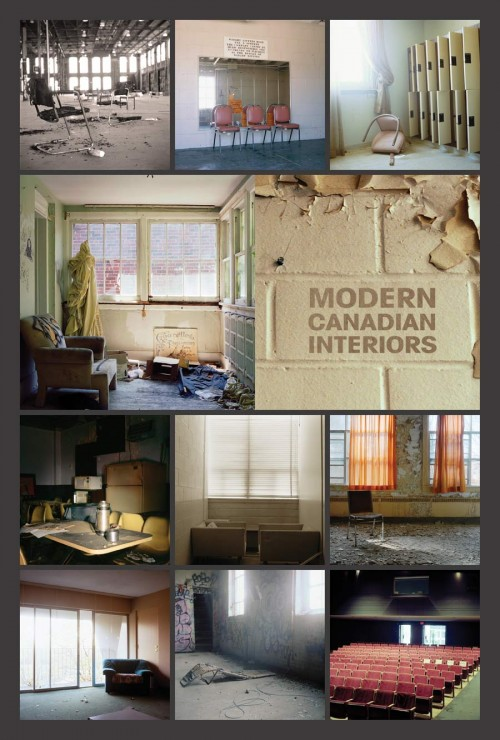 modern canadian interiors poster